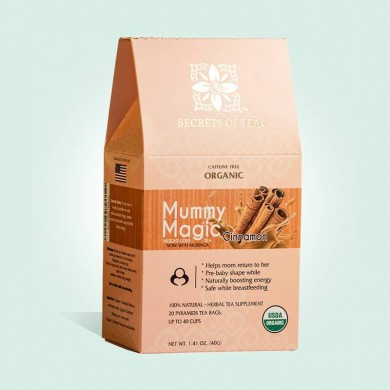 SLIM TEA- Mummy Magic Weight Loss Cinnamon Tea: 40 CUPS - POSTNATAL WEIGHT LOSS