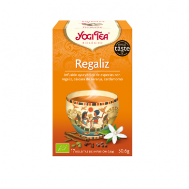 Yogi Tea Bags Regaliz 17