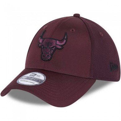 Gorras Chicago Bulls Mesh Back 39Thirty Maroon Flexfit - New Era