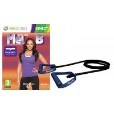 Get Fit With Mel B Bundle(Incluye Goma Elastica) Ps3 -